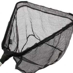 """Tasche 107cm Bügelöffnung Landing Net mit black Metallblock 42/"""" Karpfenkescher"""